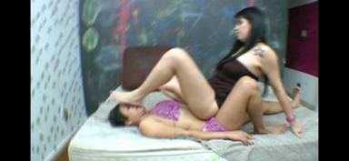 Feet Domination By Ellen Pacheco And Thais Monteiro