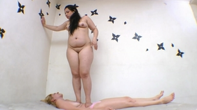 TRAMPLING / Trampling  Fat Ass Girl - I Destroy Your Fucking Body Bitch !