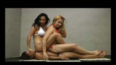 PONYGIRL / Ponygirl - Real Step Sisters - Nara Lemos And Celine Lemos