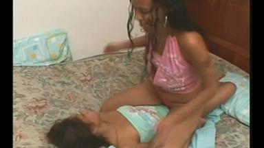 Face Slap And Kick - The Real Step Sisters