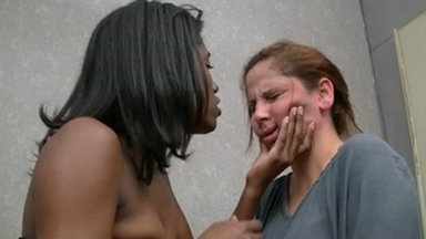Face Slap And Kick By Ana Black And Luana Zavero