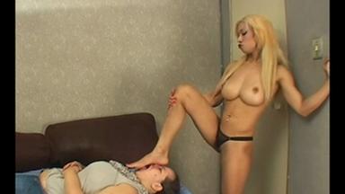 Feet Domination - Sara The Blonde