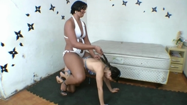 Ponygirl - Gigantic Carioca And Anita Slave