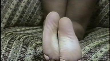 FOOT FETISH / Feet Lick - Mistress Maria And Slave Bianca