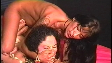 FIGHTING GIRLS / Mixed S M - Mistress Nara And Slave Luciana