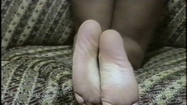 FOOT FETISH / Feet Lick - Mistress Maria And Slave Bianca