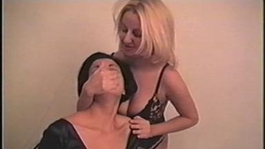 HandSmother - Mistress Pamela And Slave Alessandra