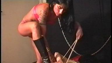 Mixed S M - Mistress Nara And Slave Luciana