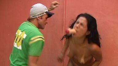 FIGHTING GIRLS / BellyPunch - Roberto And Slave Veronika