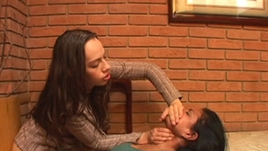 FOOT FETISH / Dangerous Hands - Adriana And Two Slaves