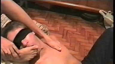 FOOT FETISH / Feet Lick - Isabel, Slave Marco - Classics