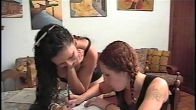 FOOT FETISH / Feet Lick Lesbians - Mara And Leslie - Classics