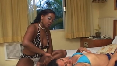 FIGHTING GIRLS / Slap And Kick Face - Ana Black And Slave Ivana