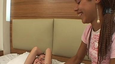 LESBIAN / Tickling Girls - Amara And Gaby