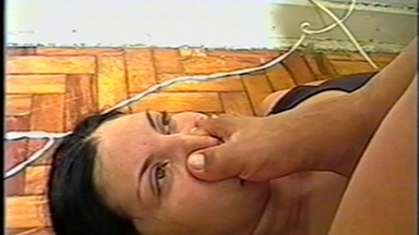Feet Smother - Mistress Magali And Slave Clotilde