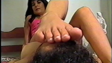 FOOT FETISH / Feet Smother - Mistress Vera And Slave Karla