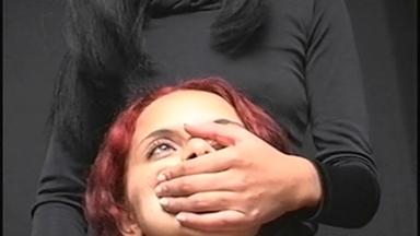 HandSmother - Mistress Aylla And Slave Bel