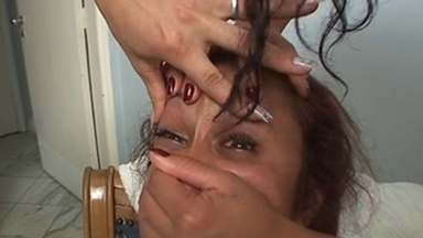 Handsmother Faceslapping - Victoria Sanches, Fernanda Nery And Slave Luciana - Classics