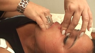 SMOTHER / Nails Throat - Mistres Giovana Miller VS Slave Rita
