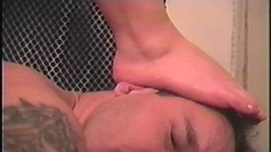 Trample And Feet Lick - Tamina, Slave Marco - Classics