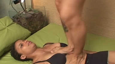 TRAMPLING / Trample And Jump - Bianca And Slave Maria
