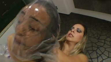 Scissor Giant Strong Legs Rafaela Blonde And Vivi