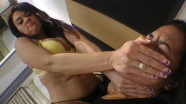 SMOTHER / Danger Hands Extreme By Top Dominatrix Soraya Carioca And Tammy