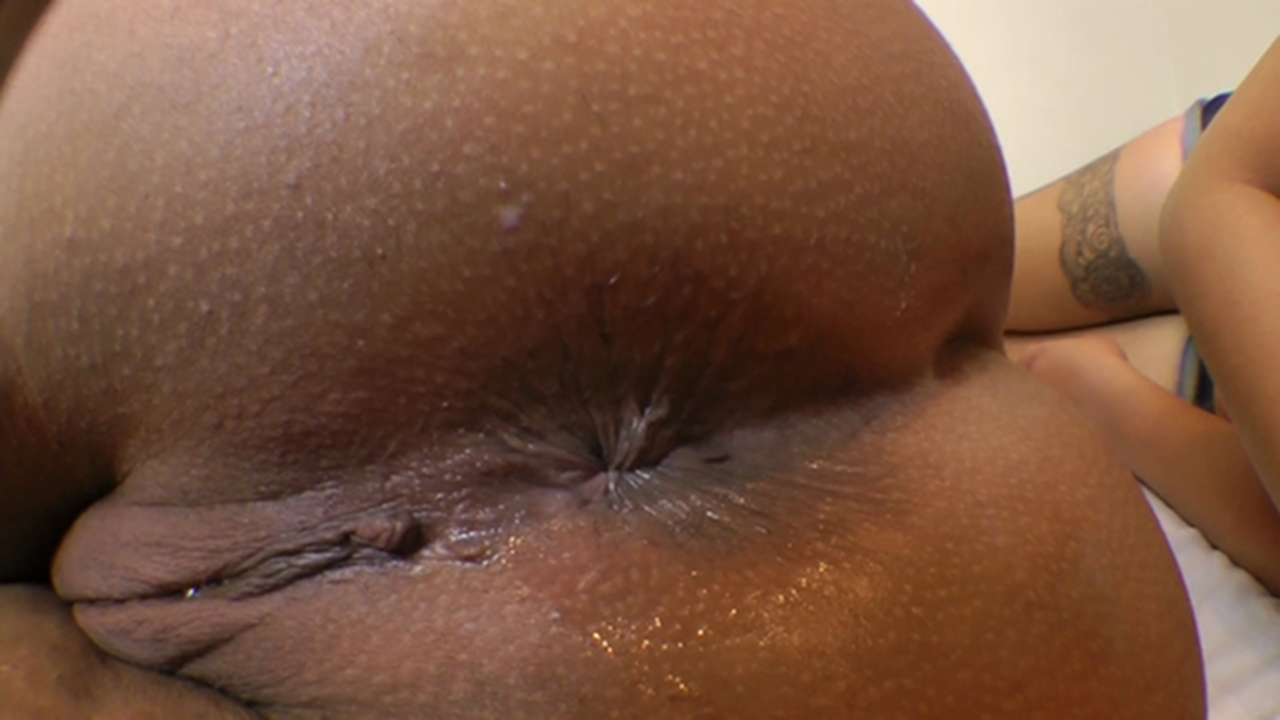 Ebony Ass Licking Threesome