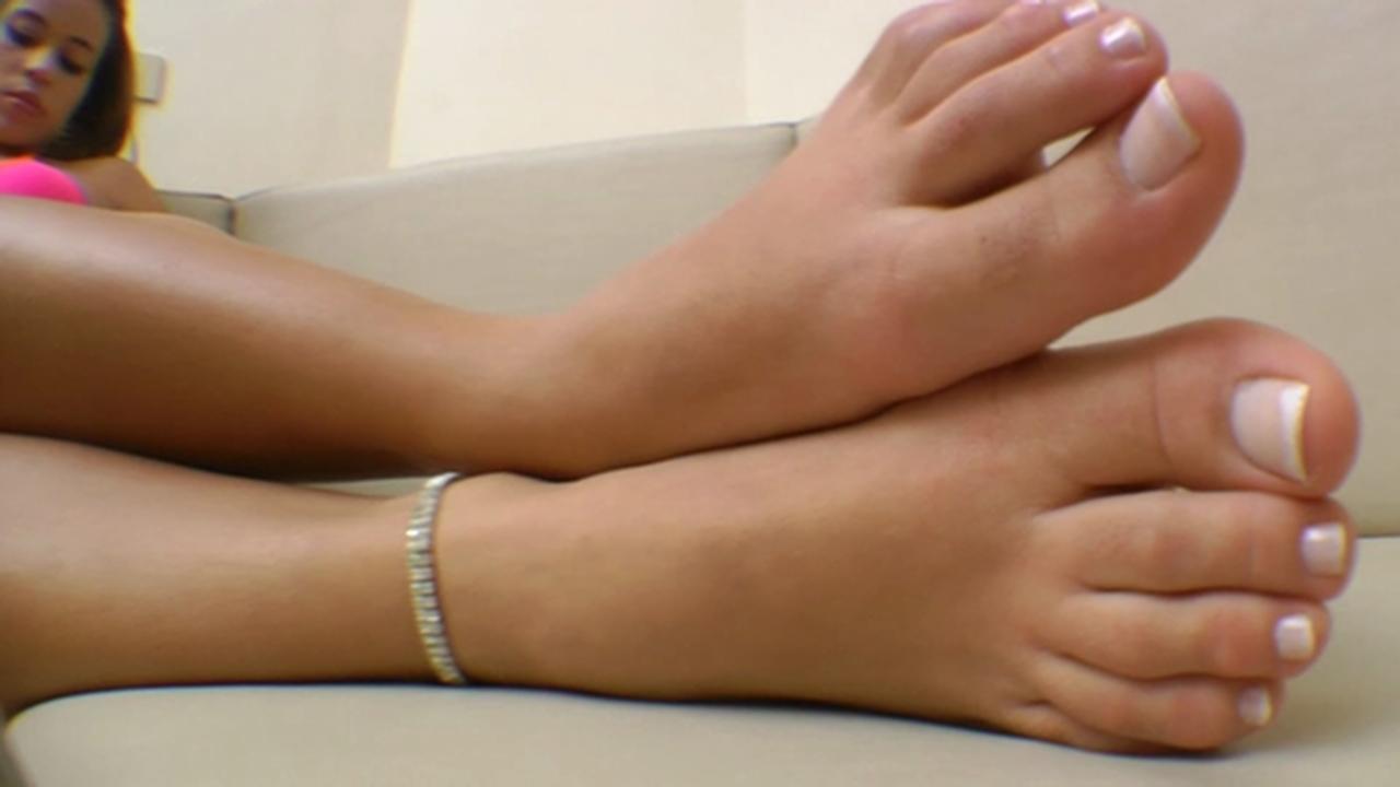 Woman foot fetish-4254