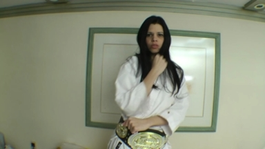 Karate Fight - Real Fear In Real Time Karina Reis And Eriquinha