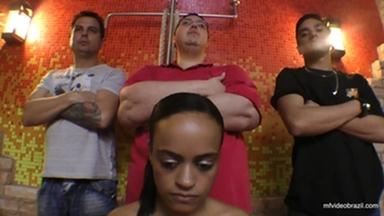 PONYGIRL / Pony Girl And Boy The Gang Bang Pyramid By Renato Colossos And Mel Costa