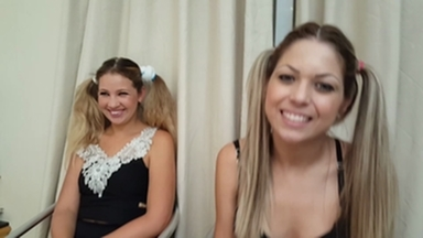 FOOT FETISH / Deep Feet Black Tears Championship Of Blondes By Karina Cruel Patricinha And Paulinha