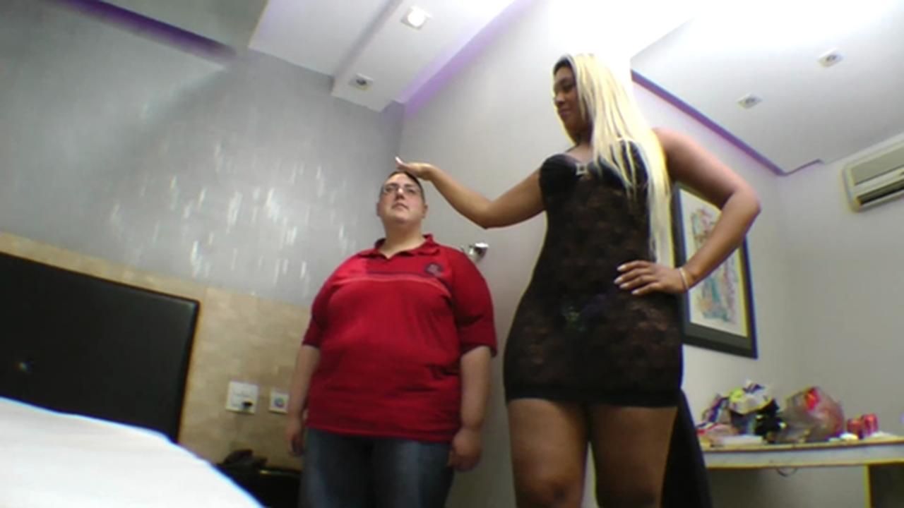 Big brazilian bbw ass facesitting