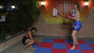 Fighting Girls Muay Thay By Rapha Vegas And Slave Vivi