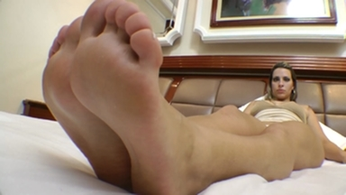 FOOT FETISH / Foot Gang Attack DominationBy Rapha Vegas And Her Four Slaves