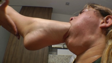 i The Giant Girl Will Feel Your Throat With My Feet Bitch By Wanessa Mendes And Isabela