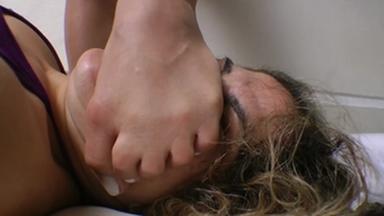 Karateka Feet Face By Carol Castro And Isabela