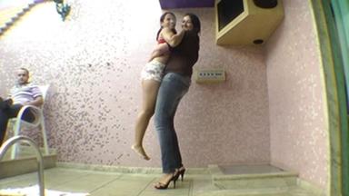 KISSING / Hot Kisses Giant ByTati Devassa And Vivia