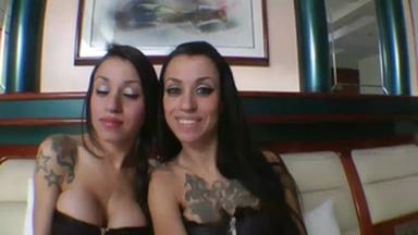 Lesbian Domination Real Twins By Rafaella Gueiche And Graziella Gueicha