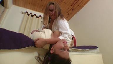 FIGHTING GIRLS / Judoka Humiliation By Tati Devassa And Ariel Part 1