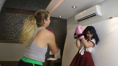 FIGHTING GIRLS / Real Fight Boxing Marathon By Meg And Paulinha Part 1