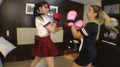 FIGHTING GIRLS / Real Fight Boxing Marathon By Meg And Paulinha Part 2