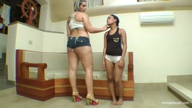 TRAMPLING / Trample Giant Destroying Skinny Girl By Rapha Vegas And Vaninha