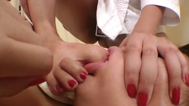 Feet Fight Big Feet Size 9,5 By Tati Devassa And Slave Ariel