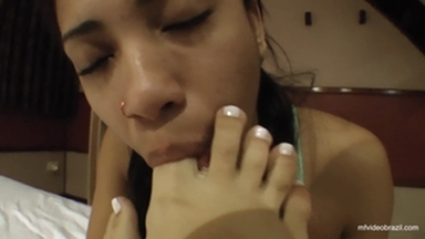Feet Licking By Mayanna Rodrigues And Vivi