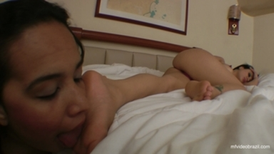Feet Licking By Radassa And Tammy