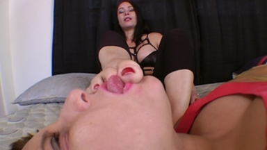 Foot Domination Beautiful Milf By Aline Moraes And Slave Ariel