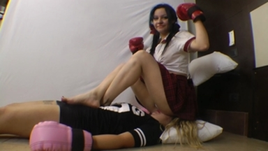 Real Fight Boxing Marathon By Meg And Paulinha Part 2