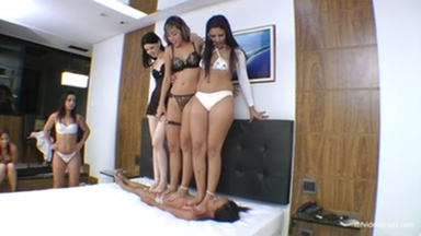 Trampling Championship Marathon By Top Model Lola Mello And Bia Telles Part 2