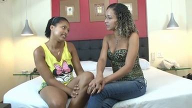 Kissing Hot Kisses By Jennifer Avila And Mya Black